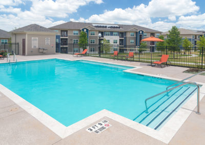 Stallion Pointe sparkling pool